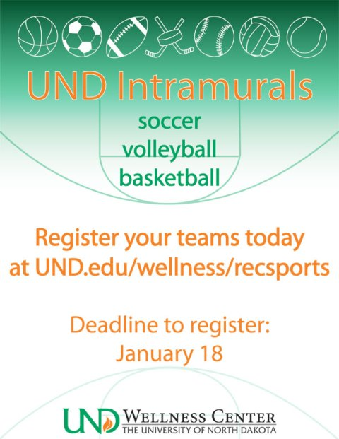 Who is ready for Spring Intramurals to start?