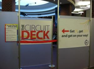 Circuit Deck Entrance