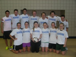 CoRec Indoor Soccer Champion - Man-Chest-Hair