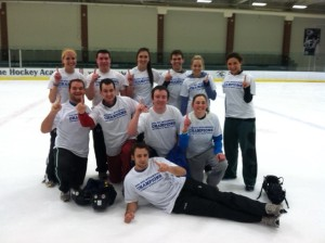CoRec Broomball Champion - Sunnyvale