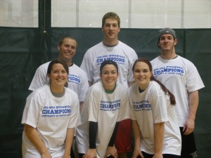 Dodgeball CoRec Champion - Tongue Punch