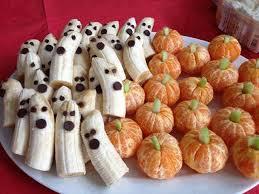bananas and oranges halloween