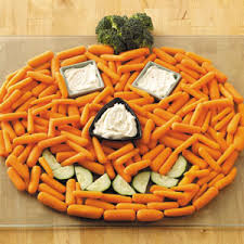 halloween carrot pumpkin