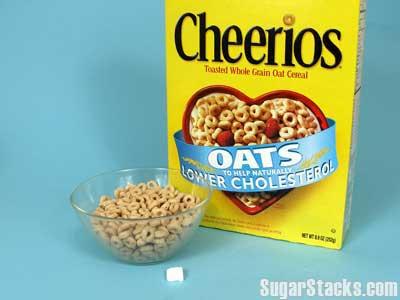 Cherrios - 1g per serving